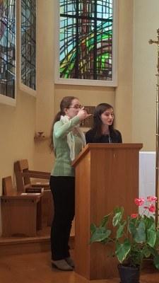 Messe de rentrée du lycée 2017