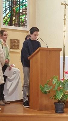 Messe de renrée du lycée 2017