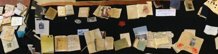Exposition des carnets de poilus